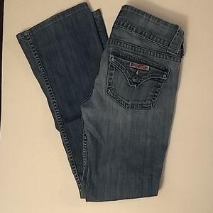 Hudson Signature Boot Cut Jeans Flap Back - 26